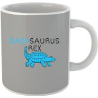 Taza  Babysaurus Rex  - Gris