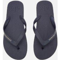 Armani Exchange Armani Exchange Men's Solid Flip Flops - Navy - UK 10.5 - Navy