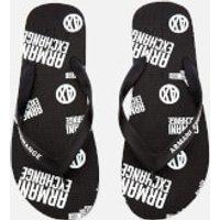 Armani Exchange Men's AX Flip Flops - Nero - UK 6.5 - Black