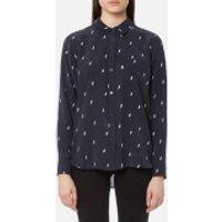 Rails Women's Kate Shirt - Navy Lightning - XS - Navy