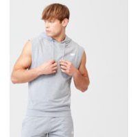 Form Sleeveless Hoodie - XS - Grey Marl