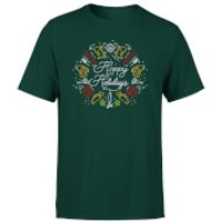 Hoppy Holidays T-Shirt - Forest Green - XXL - Forest Green - Holidays Gifts
