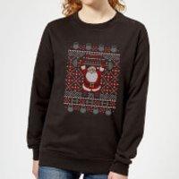 Merry Liftmas Women's Sweatshirt - Black - XXL - Black