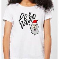 Ho Ho Ho Women's T-Shirt - White - M - White