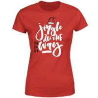 Jingle Womens T-Shirt - Red - S - Red