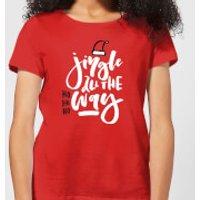 Jingle Women's T-Shirt - Red - M - Red