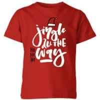Jingle Kids T-Shirt - Red - 9-10 Years - Red