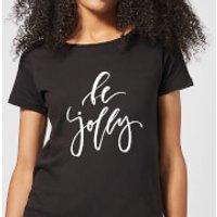 Be Jolly Women's T-Shirt - Black - XL - Black