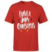 Have a Jolly Christmas T-Shirt - Red - L - Red