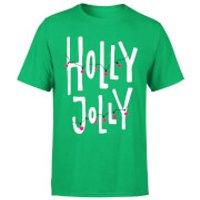 Holly Jolly T-Shirt - Kelly Green - XL - Kelly Green