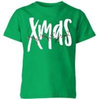 Xmas Kids' T-Shirt - Kelly Green - 7-8 Years - Kelly Green