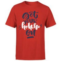 Get your Ho Ho Ho On T-Shirt - Red - M - Red