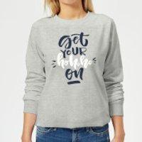 Get your Ho Ho Ho On Women's Sweatshirt - Grey - XXL - Grey