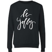 Be Jolly Womens Sweatshirt - Black - S - Black