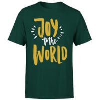 Joy to the World T-Shirt - Forest Green - XXL - Forest Green