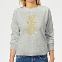 International Reindeer Women's Sweatshirt - Grey - XXL - Grey - Reindeer Gifts