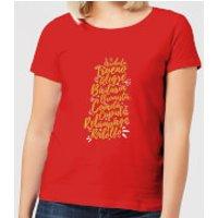 International Reindeer Women's T-Shirt - Red - S - Red