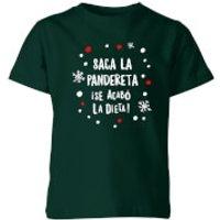 Saca La Pandereta Kids' T-Shirt - Forest Green - 7-8 Years - Forest Green