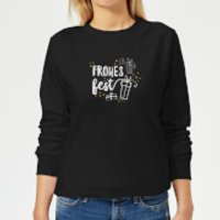 Frohes Fest Women's Sweatshirt - Black - XS - Black
