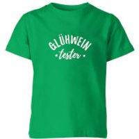Gluhwein Tester Kids T-Shirt - Kelly Green - 3-4 Years - Kelly Green