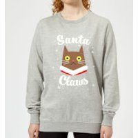 Santa Claws Women's Sweatshirt - Grey - XL - Grey