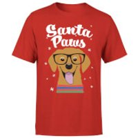 Santa Paws T-Shirt - Red - XL - Red