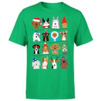 Merry Dogmas T-Shirt - Kelly Green - XL - Kelly Green