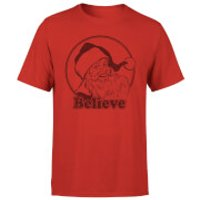 Believe Red T-Shirt - Red - XL - Red