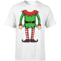 Elf T-Shirt - White - XXL - White - Elf Gifts