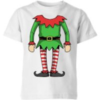 Elf Kids' T-Shirt - White - 11-12 Years - White - Elf Gifts