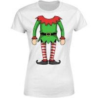 Elf Womens T-Shirt - White - S - White
