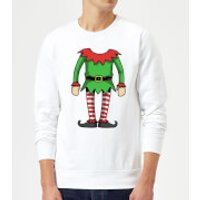 Elf Sweatshirt - White - XXL - White - Elf Gifts