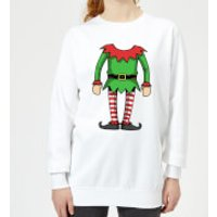 Elf Women's Sweatshirt - White - XXL - White - Elf Gifts