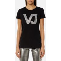 Versace Jeans Womens Logo T-Shirt - Black - S - Black