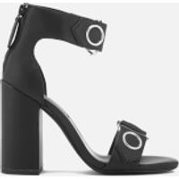 Senso Women's Lala Leather Heeled Sandals - Ebony - UK 7 - Black