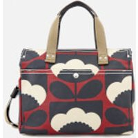 Orla Kiely Womens Small Zip Messenger Bag - Poppy