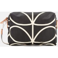 Orla Kiely Womens Small Cross Body Bag - Liquorice