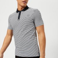 Armani Exchange Mens Stripe Polo Shirt - Stripe Navy - S - Multi