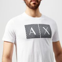 Armani Exchange Men's Box Logo T-Shirt - White - M - White