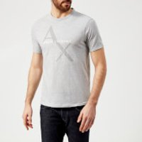 Armani Exchange Men's Ax Logo Reg Fit T-Shirt - Grey - S - Grey