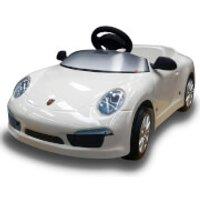 Porsche 911 Pedal Power Car - White