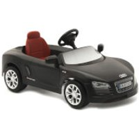 Audi R8 Spyder Pedal Power Car - Matte Black - Audi Gifts