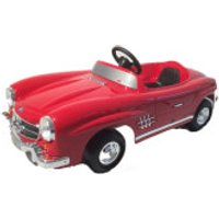 Mercedes 300SL Pedal Power Car - Red - Mercedes Gifts