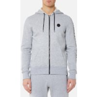 Michael Kors Men's Fleece Logo Hoody - Heather Grey - XXL - Grey