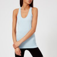 M-Life Women's Racer Seamless Tank Top - Powder Blue Marl - M/L - Blue
