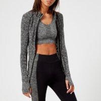 M-Life Womens Seamless Jacket - Black Marl - XS/S - Black