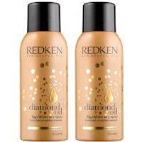 Redken Diamond Oil Aerosol Spray Duo (2 x 150ml)