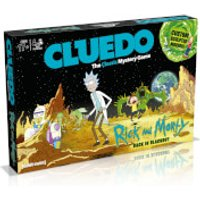 Cluedo Mystery Board Game - Rick and Morty Edition - Board Game Gifts