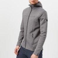 Under Armour Mens Sportstyle Elite Utility Full Zip Jacket - Steel Full Heather/Black - XL - Grey