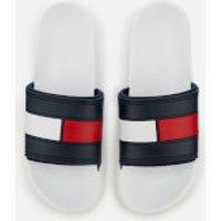 Tommy Hilfiger Men s Splash Slide Sandals   White   UK 7 8   White